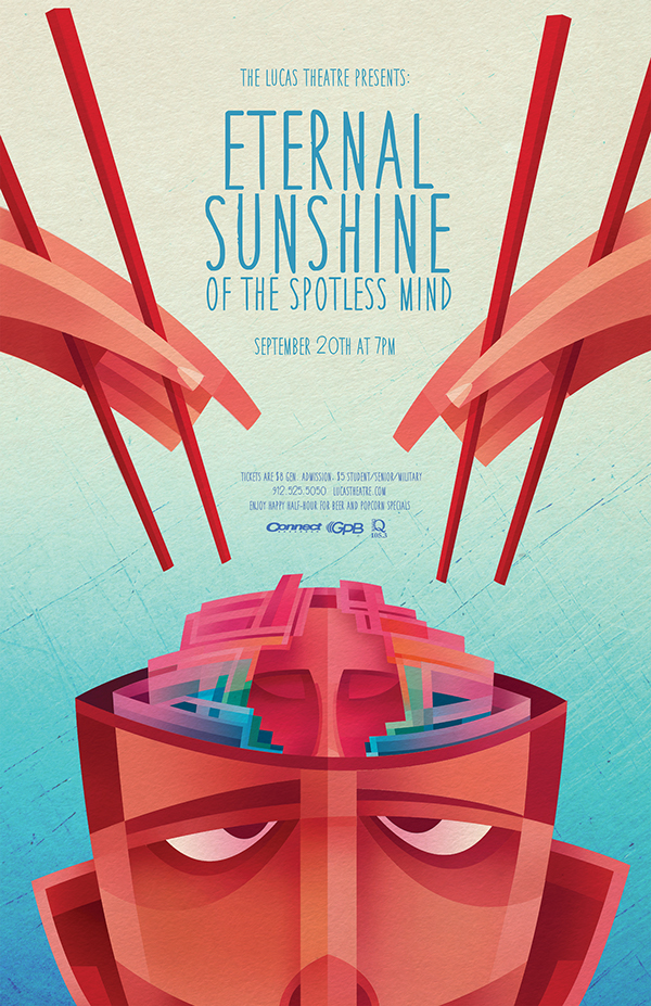 Sean Loose - Lucas Theatre Event Posters Eternal Sunshine
