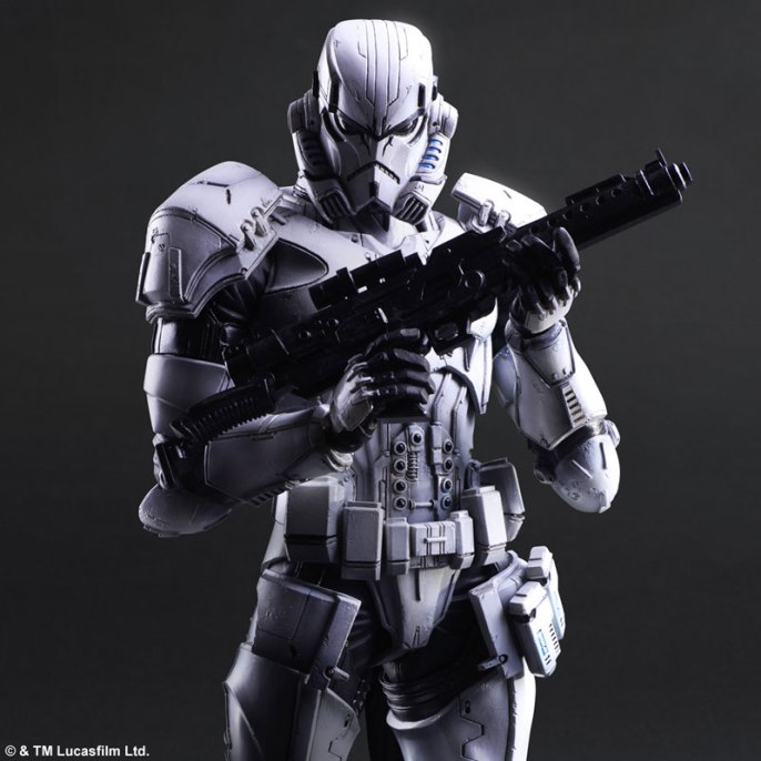 Square Enix Star Wars Play Arts Variant Figures - Stormtrooper-003
