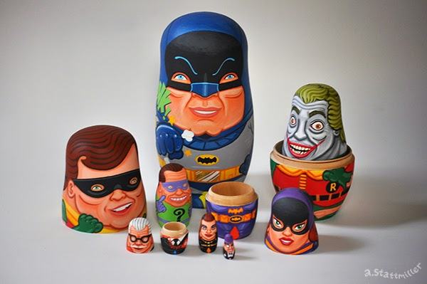 Andy Stattmiller - Nesting Dolls Batman5