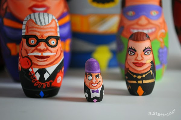 Andy Stattmiller - Nesting Dolls Batman6