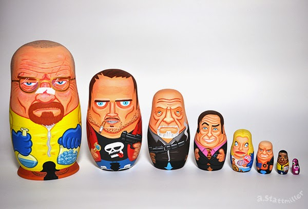 Andy Stattmiller - Nesting Dolls Big Breaking Bad