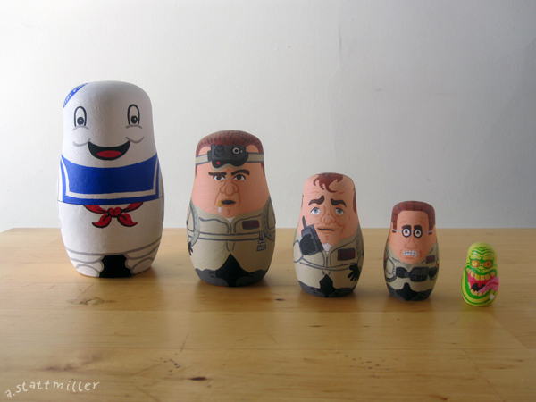 Andy Stattmiller - Nesting Dolls Ghostbusters