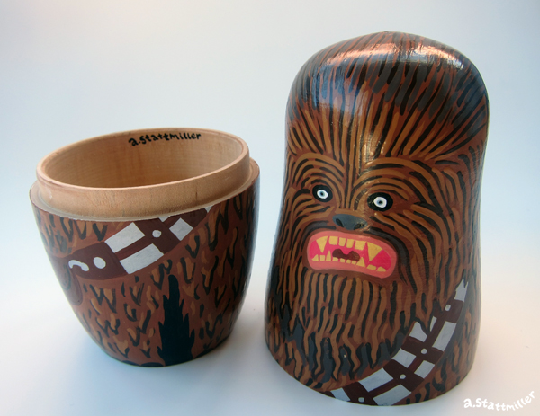 Andy Stattmiller - Nesting Dolls Star Wars8