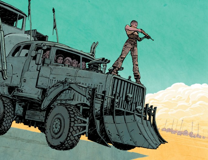 Cliff Chiang - Mad Max- Fury Road