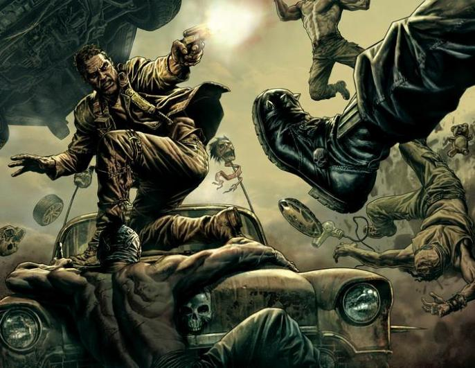 Lee Bermejo - Mad Max- Fury Road