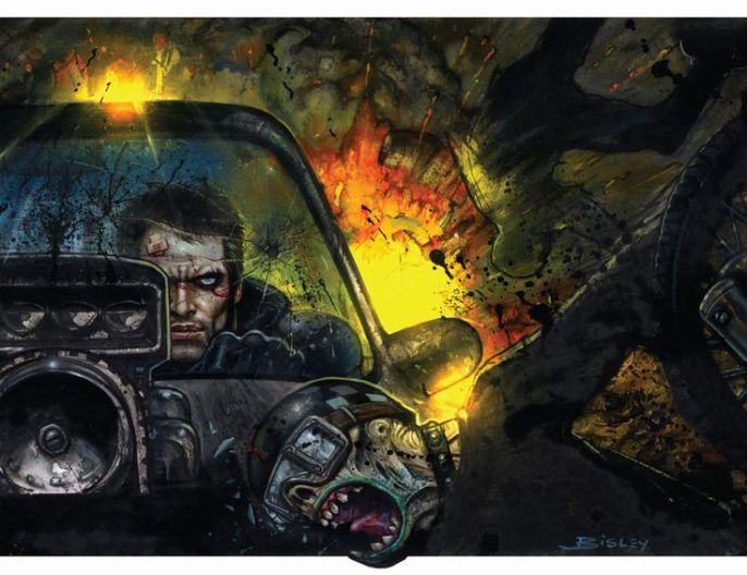 Simon Bisley - Mad Max- Fury Road
