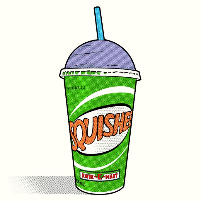 oshua Budich - One that's made entirely out of syrup