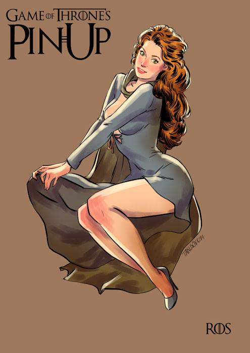 Andrew Tarusov - Game of Thrones Pin Ups Ros