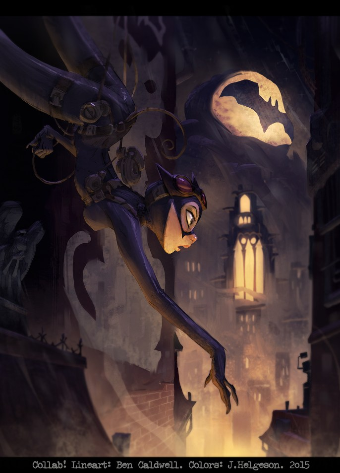 Ben Caldwell and Johannes Helgeson - Catwoman