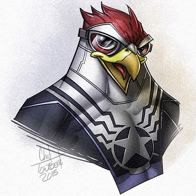Chad Townsend - Ducktales Mash Ups The Falcon