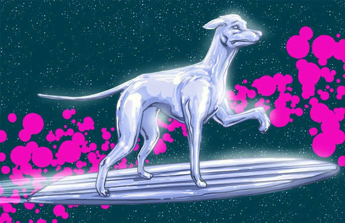 Josh Lynch -  Dog Silver Surfer