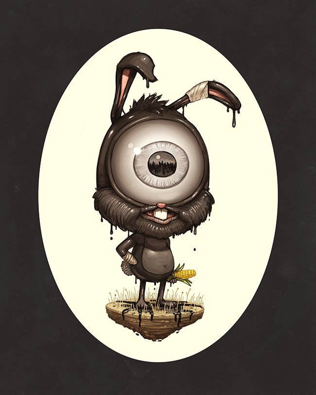 Mike Mitchell - Exclusive San Diego Comic Con Prints - COPYWRONG Bart