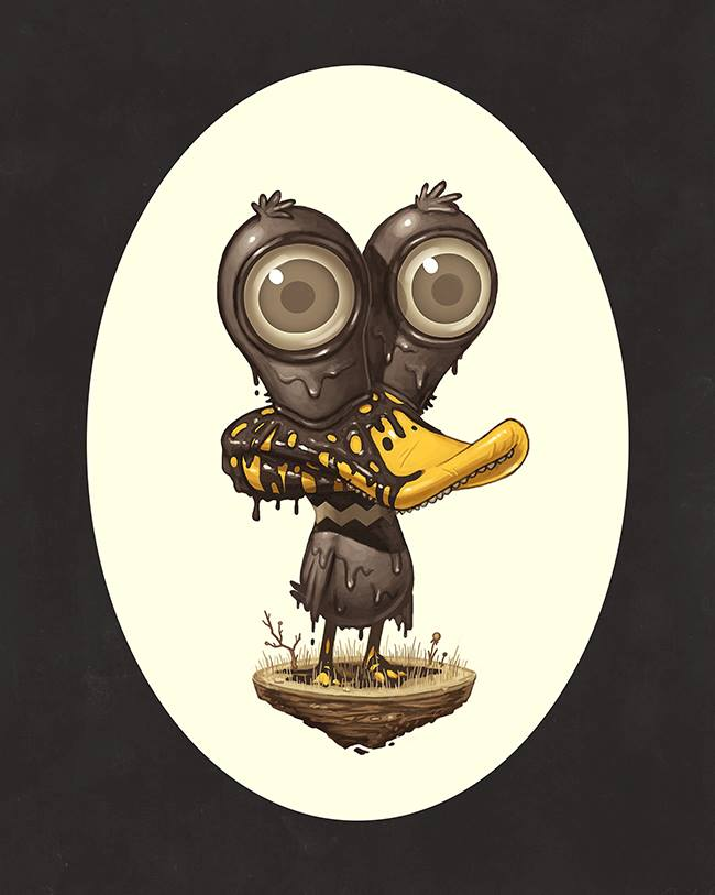 Mike Mitchell - Exclusive San Diego Comic Con Prints - COPYWRONG Derrick