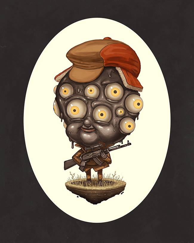 Mike Mitchell - Exclusive San Diego Comic Con Prints - COPYWRONG Eli