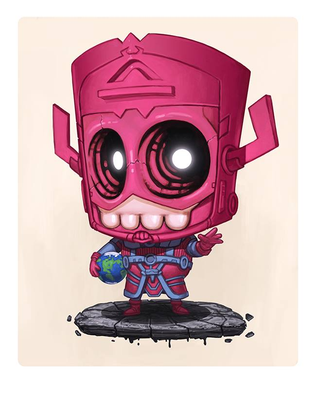 Mike Mitchell - Exclusive San Diego Comic Con Prints - Skully Cosplay Wave 3-9