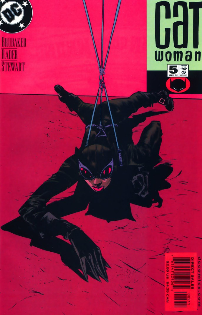 Paul Pope Catwoman Cover