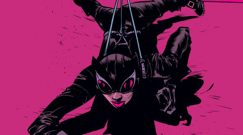 Catwoman by Paul Pope for Geek-Art and French Paper Art Club
