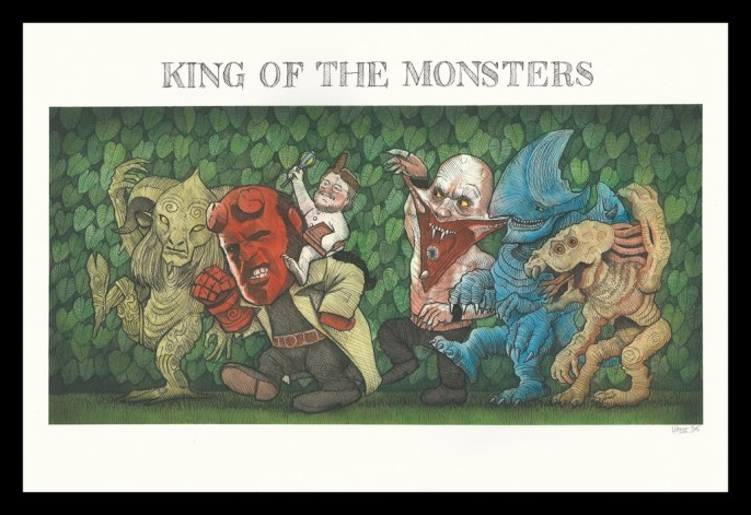 James Hance - King of the Monsters
