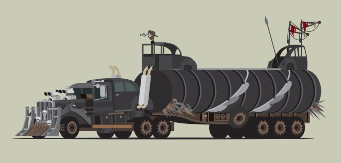 Scott Park - Mad World - The Vehicles of Fury Road 2