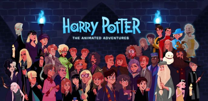 Stephen Byrne - Harry Potter- The Animated Adventures