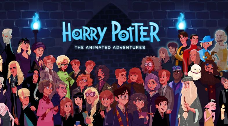 Stephen Byrne - Harry Potter: The Animated Adventures
