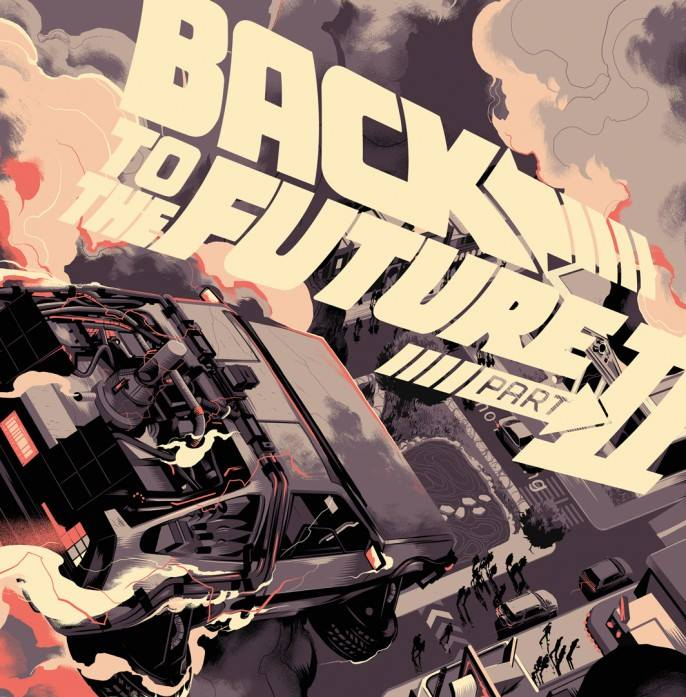Mondo - Back To The Future 2 Matt Taylor
