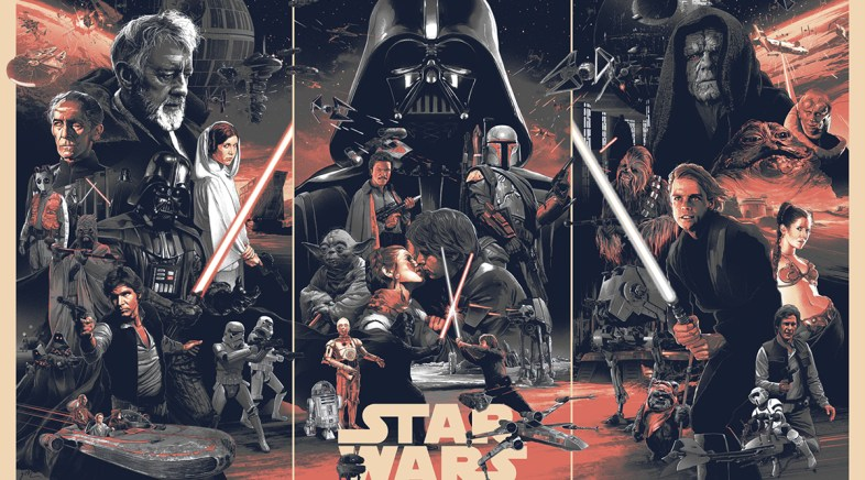 Gabz – Prints Officiels Star Wars pour la Bottleneck Gallery