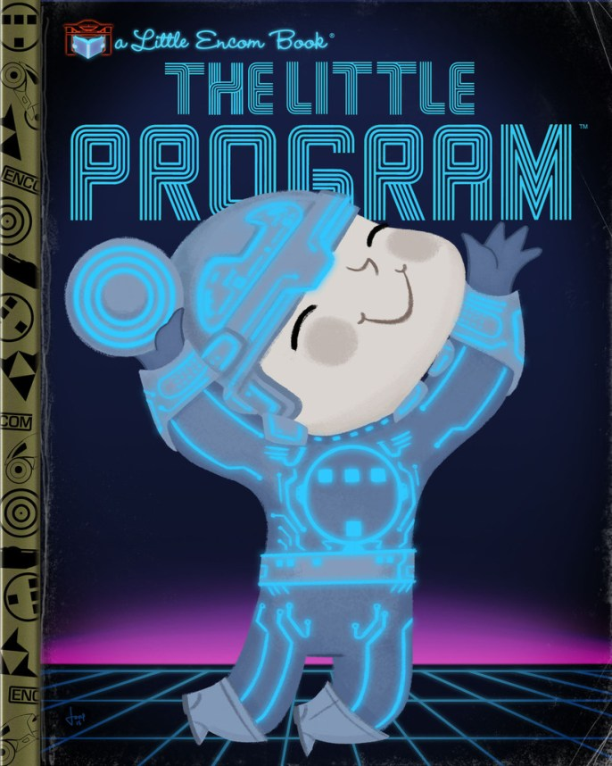 Joey Spiotto - Storytime 2 - Gallery 1988 - Tron