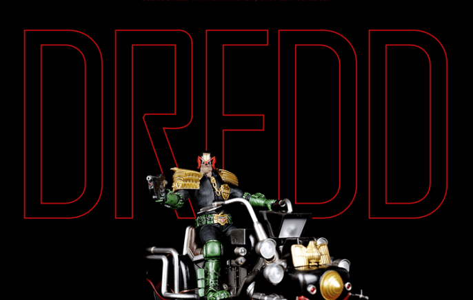 3A Toys – Judge Dredd Set
