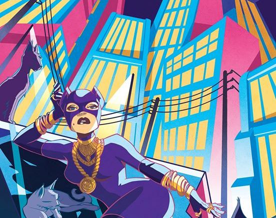 Elsa Charretier – Catwoman for French Paper Art Club & Geek-Art