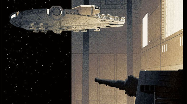 Matt Ferguson – Trilogie Star Wars pour la Bottleneck Gallery & Acme Archives