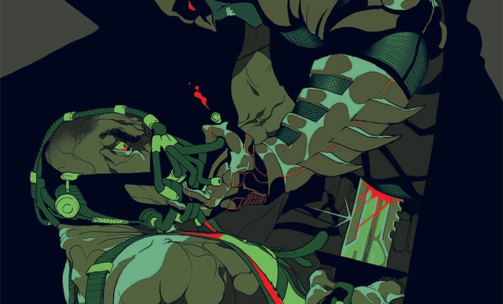 Tomer Hanuka – The Dark Knight Rises – Officially Licensed Screen Print for French Paper Art Club