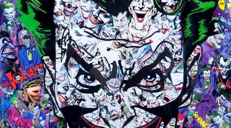 Exclusivité Paris Comics Expo 2016 – The Joker par Mr Garcin pour French Paper Art Club et Geek-Art