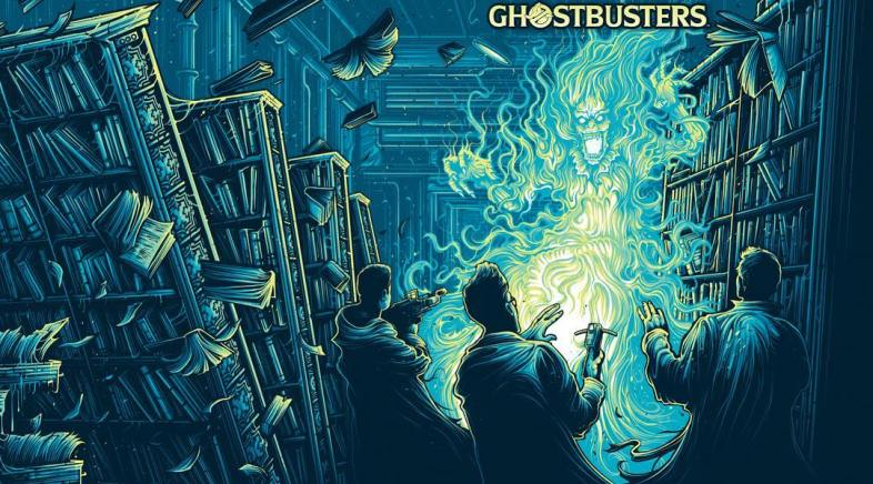 Les Couvertures Blue Ray Collector de Ghostbusters 1 & 2  par Dan Mumford