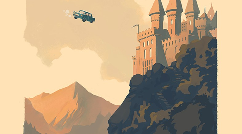 La Série de Prints Harry Potter par Olly Moss