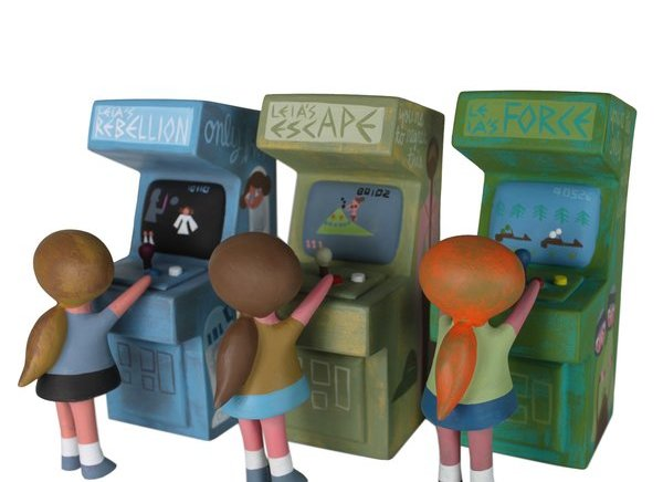 Princesse Leia's Arcade Cabinets by Amanda Visell