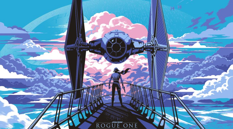 Le Poster Star Wars Rogue One de Kris Miklos