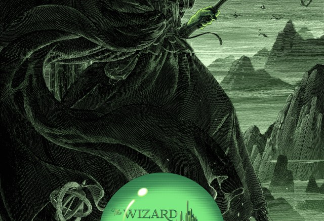 The Wizard of Oz by Nicolas Delort for Dark Hall Mansion