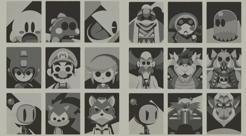 Vide Games Heroes & Vilains by Boris Mirroir – Two New Exclusive Prints on the Geek-Art Store !