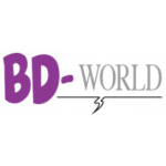 BD world logo