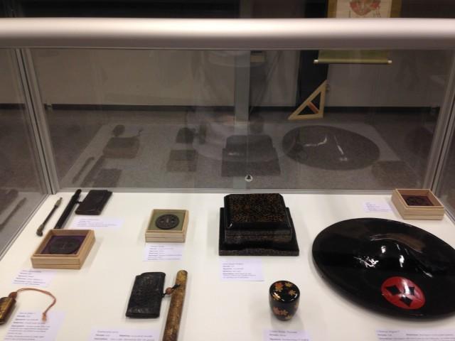 Divers objets employés par les samouraïs