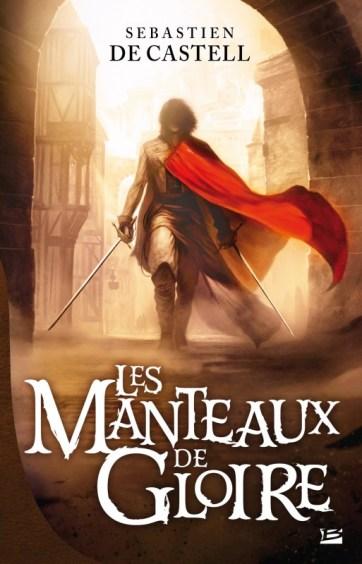 """La couverture du livre """"Les Manteaux de Gloire"""""""