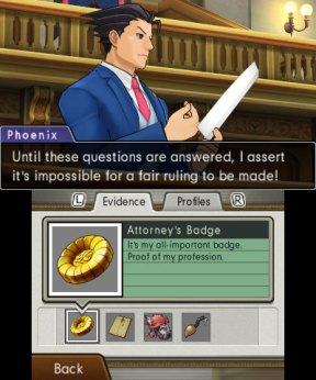L'écran du dossier de l'enquête - Dual Destinies