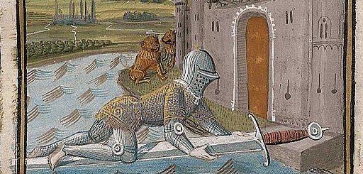 Lancelot passant le Pont à l'Epée
