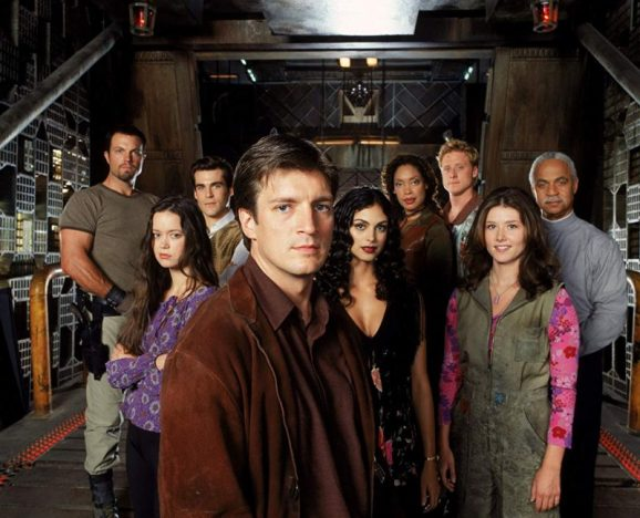 Firefly - Les occupants de Serenity au complet