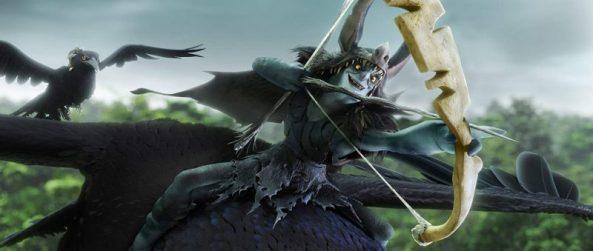 Epic - Le vil Mandrake à dos de chauve-souris