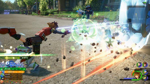 Kingdom Hearts 3 - Combat