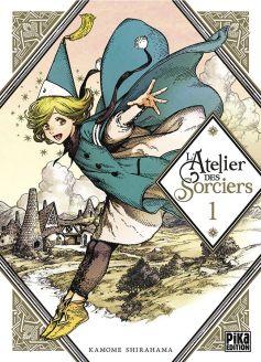 Couverture du premier tome de l'atelier des sorciers