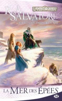 Couverture de la Mer des épées - Tome 3 des Voies des Ténèbres