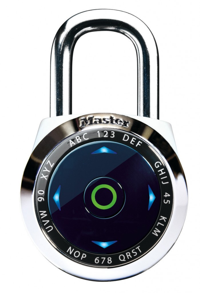 Master Lock e-One : le premier cadenas électronique GP